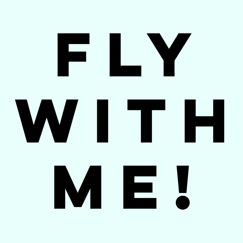 fly with me banner homepage